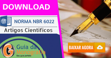 Norma ABNT 6022