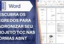 Projeto TCC – Descubra Como Padronizar Nas Normas ABNT