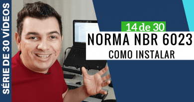 Como Instalar norma NBR 6023