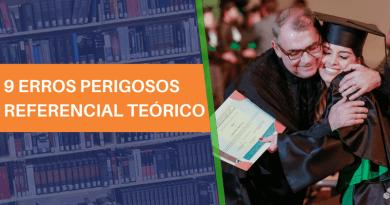 REFERENCIAL TEÓRICO – EVITE 9 ERROS PERIGOSOS