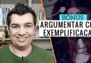 Tipos de Argumentação TCC – Exemplificação