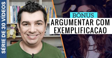 Tipos de Argumentação TCC - Exemplificação