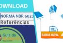 DOWNLOAD: Norma ABNT NBR-6023 Para Referências