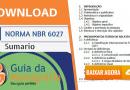 DOWNLOAD: Norma ABNT NBR 6027 Para Sumario