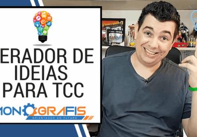 COMO ENCONTRAR O TEMA DO SEU TCC (SEM ESFORÇO)