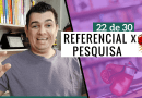 Diferença Entre Referencial Teórico e Pesquisa do TCC