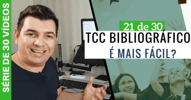 TCC Bibliográfico é mais Fácil