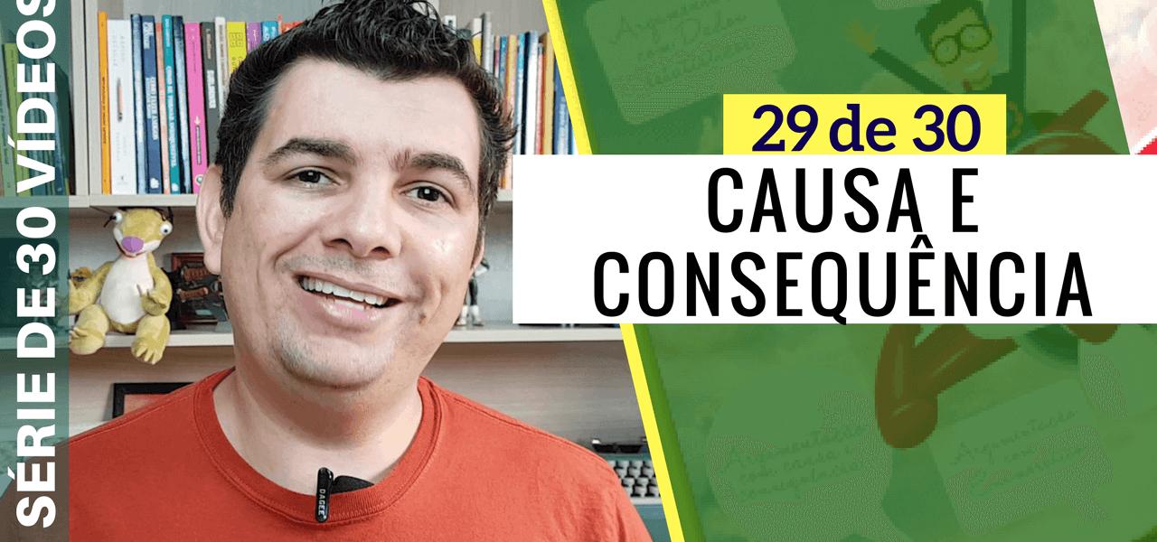 Tipos de Argumentação TCC – Causa e Consequência