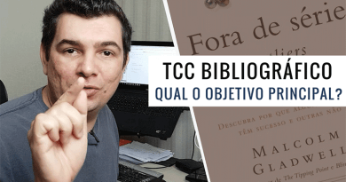 Qual o Objetivo Principal do TCC Bibliográfico?