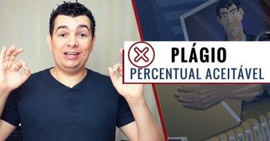 Qual Percentual Aceitável de Plágio ?