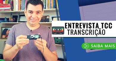 Transcrever Entrevista