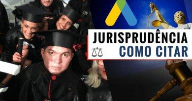 citar jurisprudência