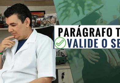 COMO VALIDAR O PARÁGRAFO DO TCC
