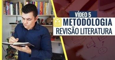 Revisão de Literatura Metodologia