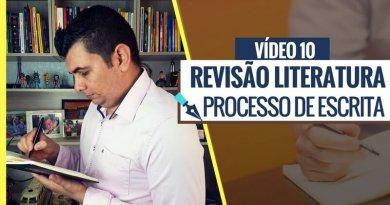Processo de Escrita da Revisão de Literatura