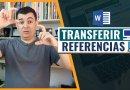 Como Transferir REFERENCIAS Word para outro Computador