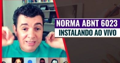 Norma ABNT 6023