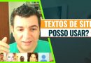 Posso usar TEXTOS DE SITES no TCC?