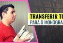 Como Transferir TCC para o Monografis