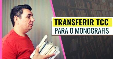 Como Transferir TCC