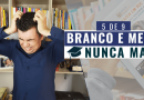 Discurso de formatura branco e medo nunca mais