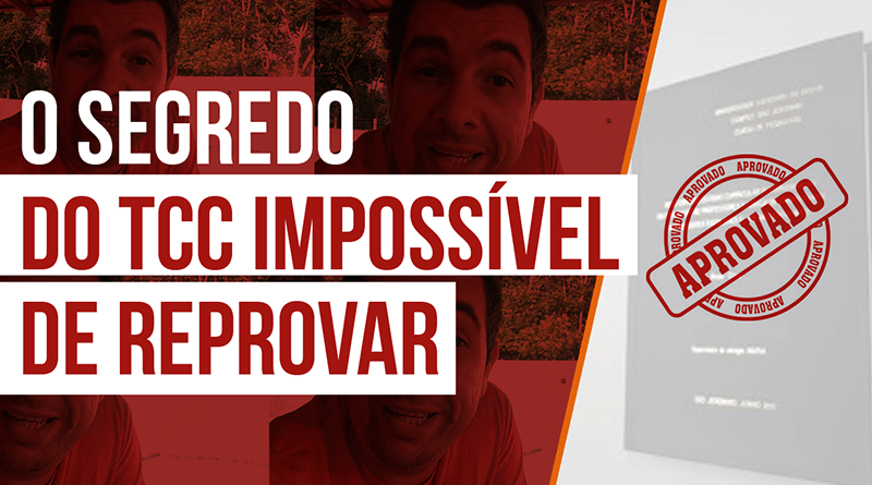 tcc impossivel de reprovar