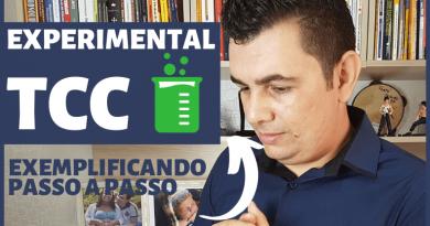 Resultados do TCC experimental – Exemplo passo a passo