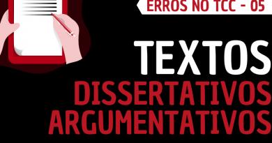 Texto dissertativo argumentativo