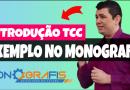 Introdução TCC exemplo no Monografis!