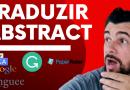 ABSTRACT TCC – Traduzindo em apenas 4 passos!