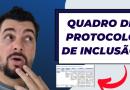 Quadro de protocolo de inclusão – Como fazer?