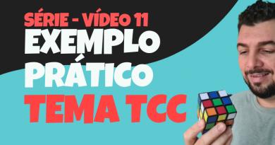 Série Temas de TCC – #11 – Montando tema TCC- Exemplo prático