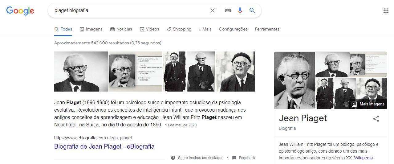 Piaget Biografia