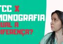 TCC x Monografia – Qual a diferença entre os dois?
